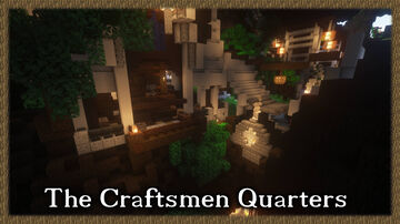 The City in the World Tree: Craftsmen Quarters Minecraft Map & Project