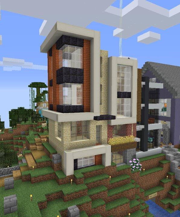 Popular Server Map : Warm Modern Townhouse 2