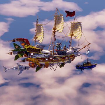 Air pirate Minecraft Map & Project
