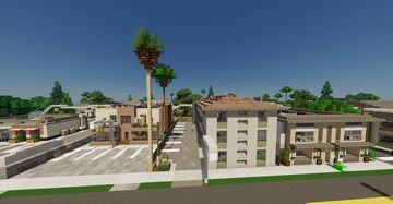 Californian, mid century appartements. Minecraft Map & Project