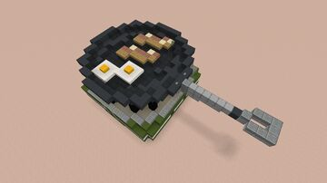 Bacon & Eggs in a pan Minecraft Map & Project