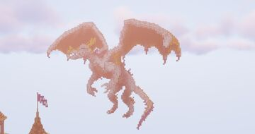 Flying Dragon Minecraft Map & Project