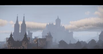 Late middle ages City + Castle, Lasion Minecraft Map & Project