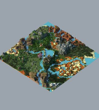City on the plateau - map Minecraft Map & Project