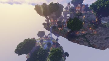 Sky Hub-Lobby spawn Minecraft Map & Project