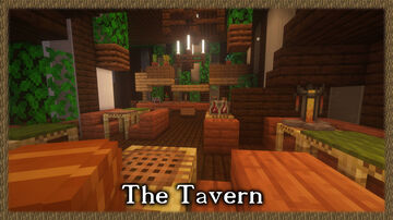 Timelapse: The Taverne of the World Tree Minecraft Map & Project
