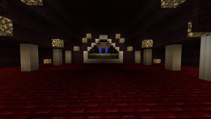 2nd floor above the lobby