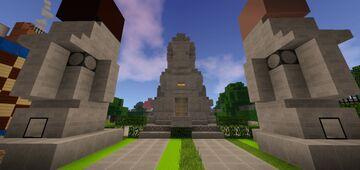Mega Redstone House MCPE Minecraft Map & Project