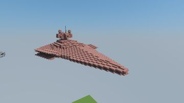 Crimson Command Victory 1 Star Destroyer Minecraft Map & Project
