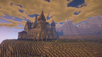 Meridas Cathedral (Gothic Fantasy) Minecraft Map & Project
