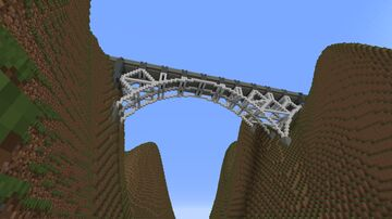 Ang's build contest round 1 entry-The bridge Minecraft Map & Project