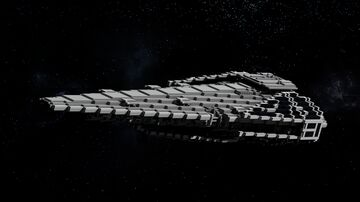 Raider-Class Corvette Minecraft Map & Project