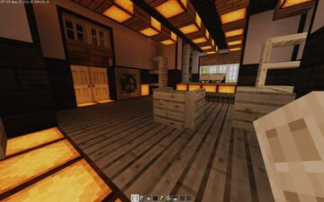 1-Story Model Home Minecraft Map & Project