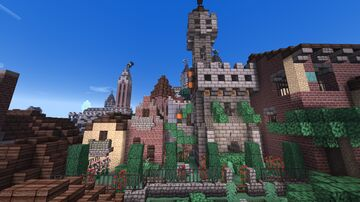The Vecchio district Minecraft Map & Project