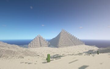 Simple Pyramids [Free Download Map Bedrock] Minecraft Map & Project