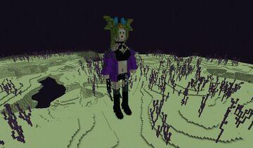 Diaochan - The Crystal Lotus - skin Exoskeletal Armor Minecraft Map & Project