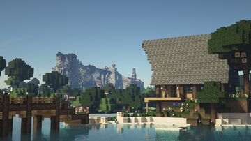 Minecraft house and kingdom Minecraft Map & Project