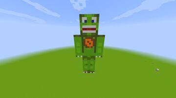 DinowCookie Statue Minecraft Map & Project