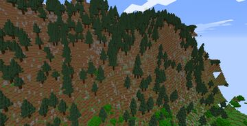 Jungle mountains Minecraft Map & Project