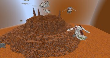 Star Wars: Geonosis Adventure Map Minecraft Map & Project