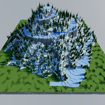 Ice racing track Minecraft Map & Project
