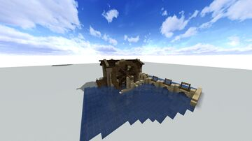 Late Medieval Watermill Minecraft Map & Project