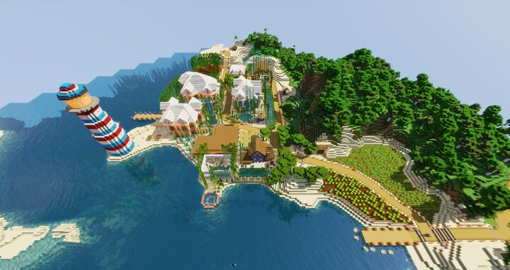 Town of Susanville. A beach town on an ocean 2.18 Miles 3.52 Kilometers North of Spawn Town.