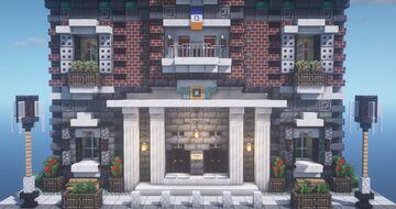 LEGO Town Hall 10224 [1.16.3] [Vanilla] Minecraft Map & Project