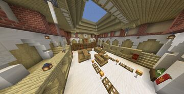 Ace Attorney - Courtroom Minecraft Map & Project