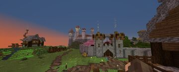 The Town of Eldor Minecraft Map & Project