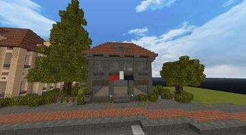 Old 20th Century small European building Minecraft Map & Project