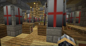 CrusaderCastle Minecraft Map & Project