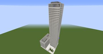 One Shell Square (New Orleans) (Full Interior) Minecraft Map & Project