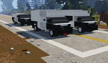 Ram ProMaster Van Minecraft Map & Project