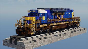 1.5:1 Scale CSX EMD SD40-2! Minecraft Map & Project