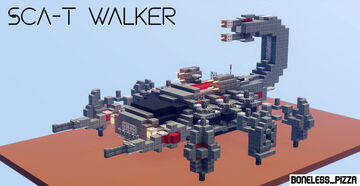 SCA-T Walker [Downloadable] Minecraft Map & Project