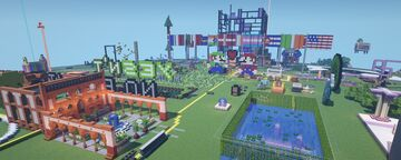 CCC - Creative Worlds Minecraft Map & Project