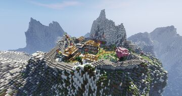 Himalayan Village Minecraft Map & Project
