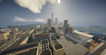 Novock a great, beautiful, green and modern city in minecraft - V 0.1.2 alpha out now ! Minecraft Map & Project