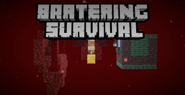 Bartering Survival - A Nether Skyblock Map Minecraft Map & Project