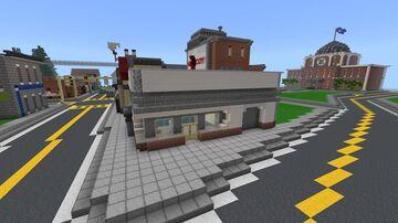 Fallout 1 Doc Morbid's (Pre War) Clinic Minecraft Map & Project