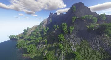 Great Andorian Mountain River Minecraft Map & Project