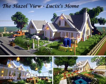 Interior Decorators Contest -The Hazel View Minecraft Map & Project
