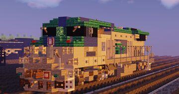 GE Dash 8-32BWH (B32-8WH) Diesel Locomotive Minecraft Map & Project
