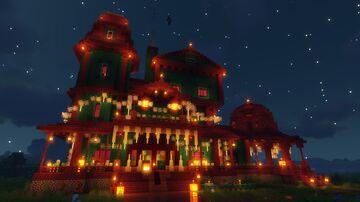 Funtazer's Free Halloween Haunted Victorian Mansion Minecraft Map & Project
