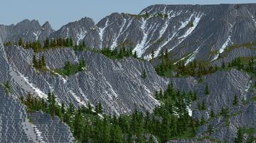4k^2 Varied Biome Terrain Minecraft Map & Project