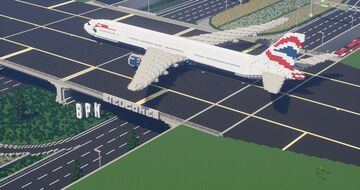 BPN AIRPORT Minecraft Map & Project