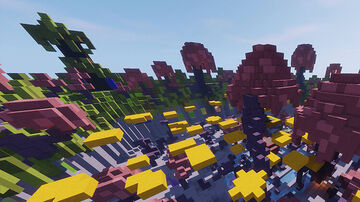 Platforms Minecraft Map & Project