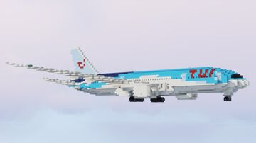 Boeing 787 Dreamliner Minecraft Map & Project