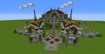 What if Pillagers had an HQ Base...? Minecraft Map & Project